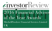 Investor Review Financial Adviser of the Year 2016